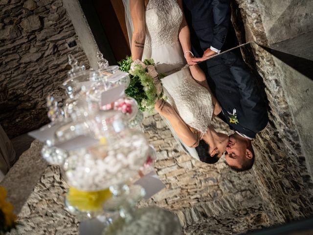 Il matrimonio di Graziano e Francesca a Gravedona, Como 50