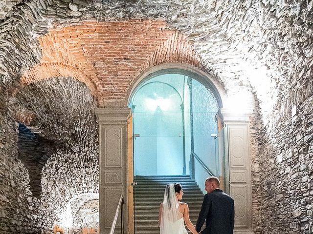 Il matrimonio di Graziano e Francesca a Gravedona, Como 51