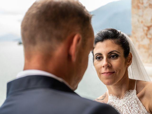 Il matrimonio di Graziano e Francesca a Gravedona, Como 53