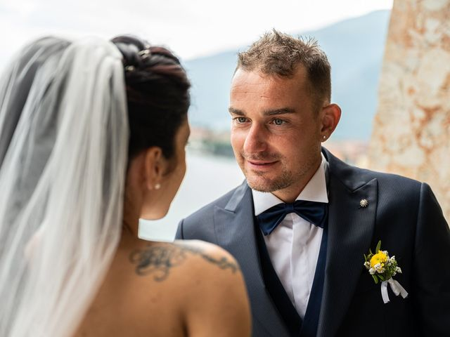 Il matrimonio di Graziano e Francesca a Gravedona, Como 54