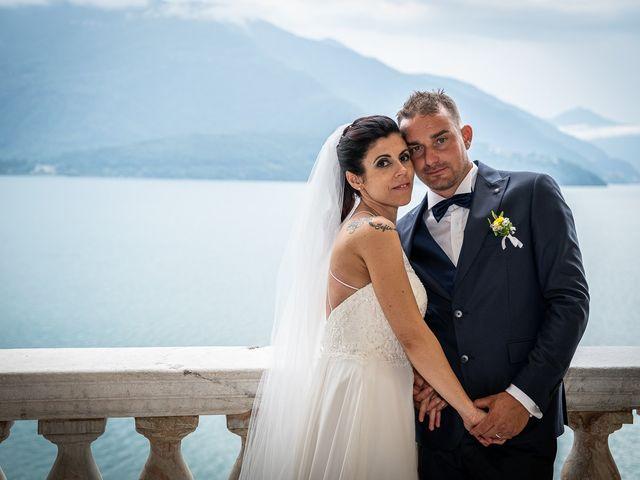 Il matrimonio di Graziano e Francesca a Gravedona, Como 55