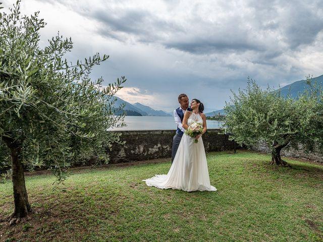 Il matrimonio di Graziano e Francesca a Gravedona, Como 62