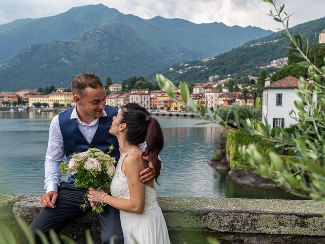 Il matrimonio di Graziano e Francesca a Gravedona, Como 63