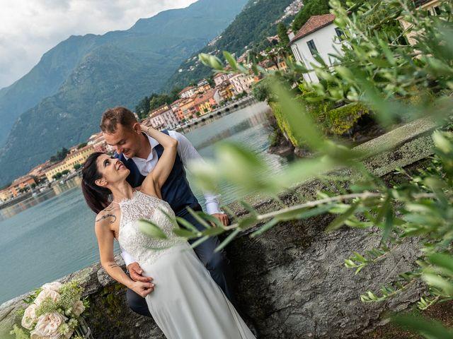Il matrimonio di Graziano e Francesca a Gravedona, Como 64
