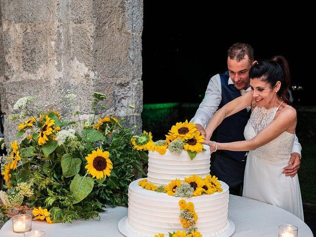 Il matrimonio di Graziano e Francesca a Gravedona, Como 69