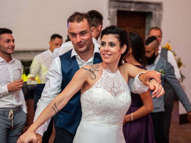 Il matrimonio di Graziano e Francesca a Gravedona, Como 80