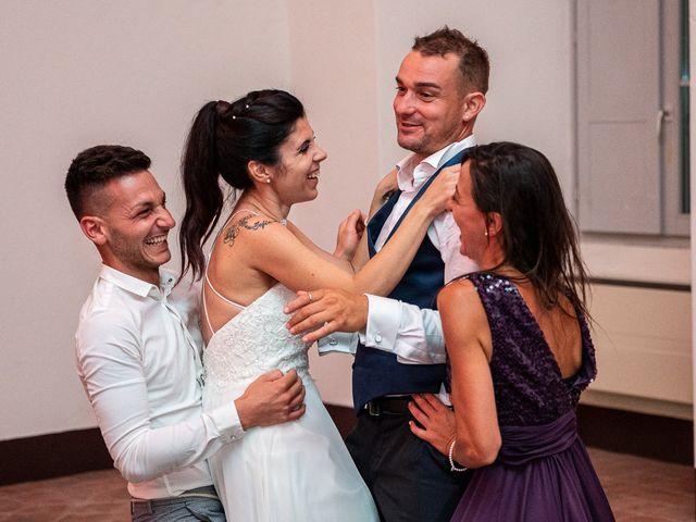 Il matrimonio di Graziano e Francesca a Gravedona, Como 81