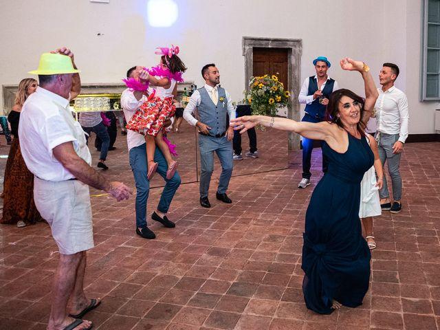 Il matrimonio di Graziano e Francesca a Gravedona, Como 83