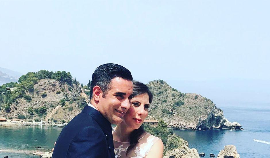 Il matrimonio di Filippo e Veronica a Taormina, Messina