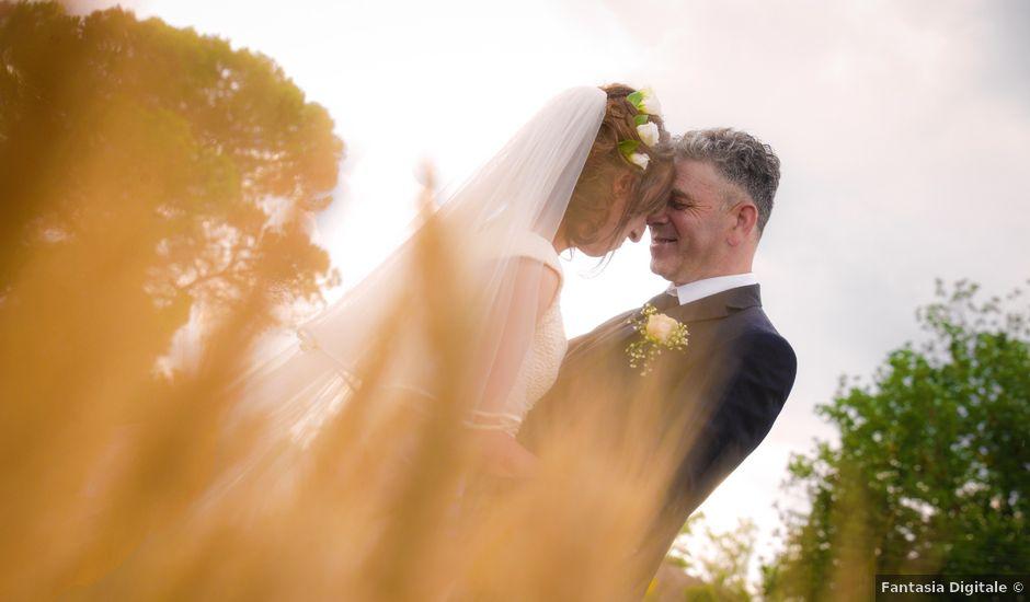 Il matrimonio di Andrea e Marta a Olevano Romano, Roma