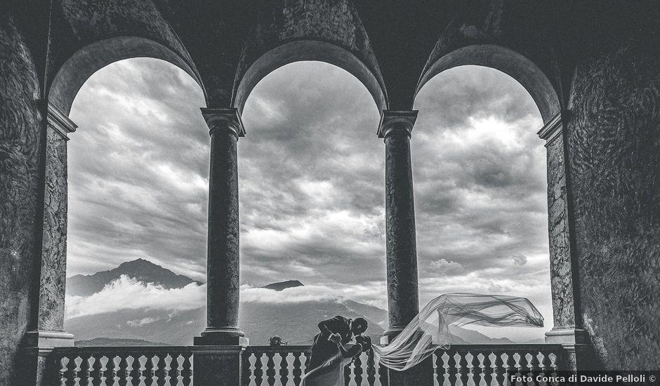 Il matrimonio di Graziano e Francesca a Gravedona, Como