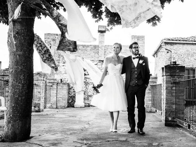 Il matrimonio di Andrea e Marzia a Castelli, Teramo 29
