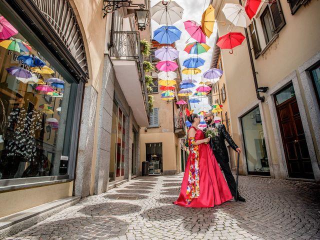 Il matrimonio di Claudio e Giada a Arona, Novara 8