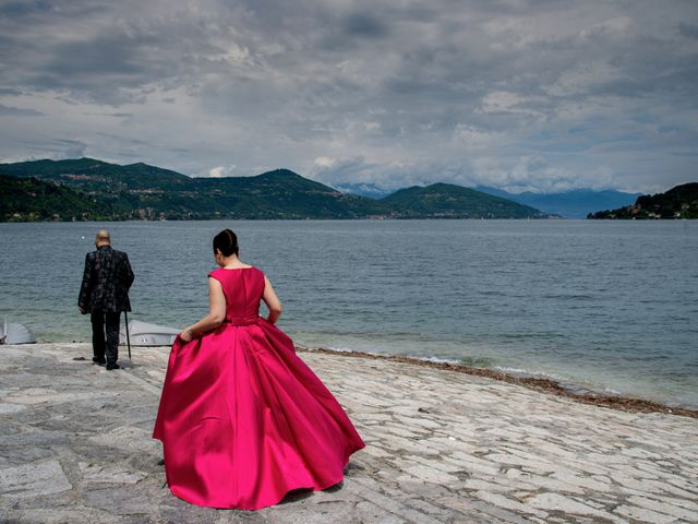 Il matrimonio di Claudio e Giada a Arona, Novara 2