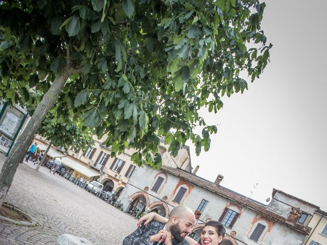Il matrimonio di Claudio e Giada a Arona, Novara 19