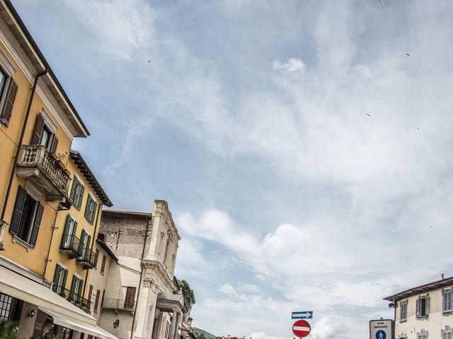 Il matrimonio di Claudio e Giada a Arona, Novara 20