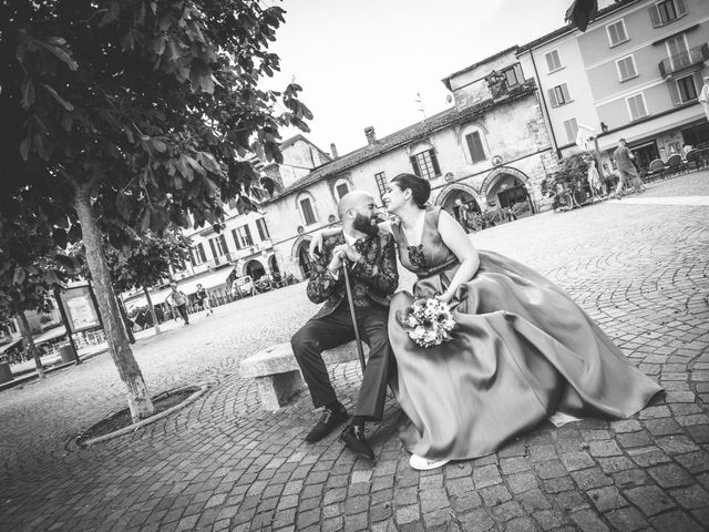 Il matrimonio di Claudio e Giada a Arona, Novara 21