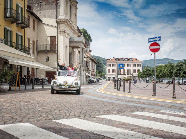 Il matrimonio di Claudio e Giada a Arona, Novara 25