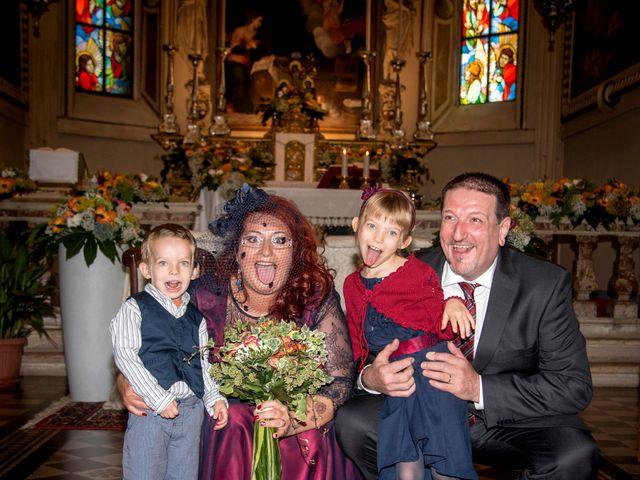 Il matrimonio di Diego e Stefania a Verdello, Bergamo 81