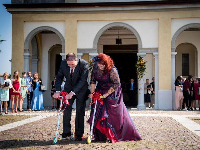 Il matrimonio di Diego e Stefania a Verdello, Bergamo 95