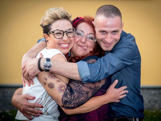 Il matrimonio di Diego e Stefania a Verdello, Bergamo 132