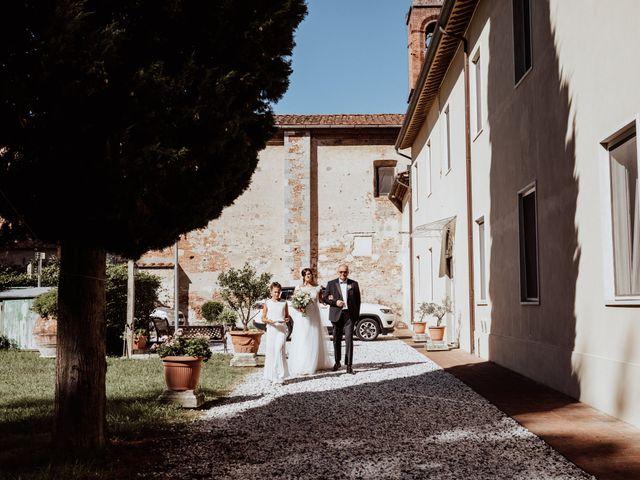 Il matrimonio di Ginevra e Domenico a Montopoli in Val d'Arno, Pisa 28