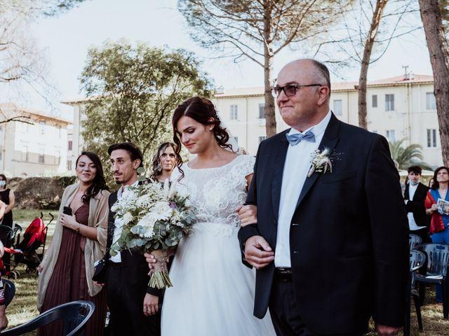 Il matrimonio di Ginevra e Domenico a Montopoli in Val d'Arno, Pisa 30