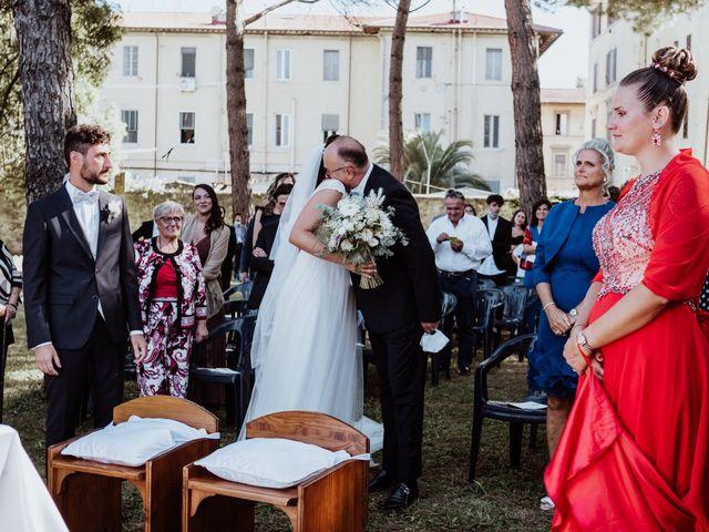 Il matrimonio di Ginevra e Domenico a Montopoli in Val d'Arno, Pisa 33
