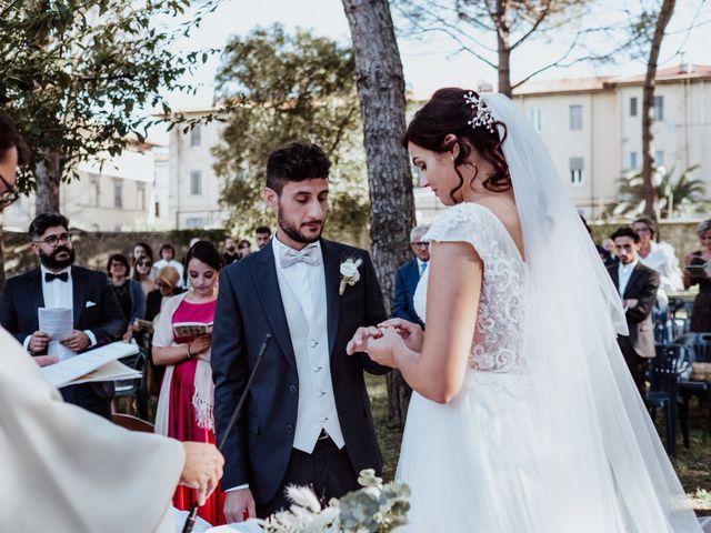 Il matrimonio di Ginevra e Domenico a Montopoli in Val d'Arno, Pisa 38