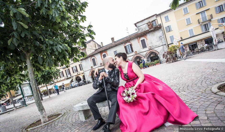 Il matrimonio di Claudio e Giada a Arona, Novara