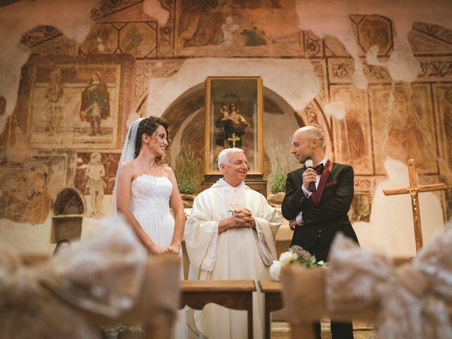 Il matrimonio di Jonah e Martina a Sant'Elia Fiumerapido, Frosinone 34