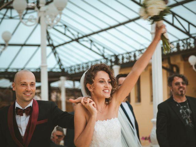 Il matrimonio di Jonah e Martina a Sant'Elia Fiumerapido, Frosinone 49