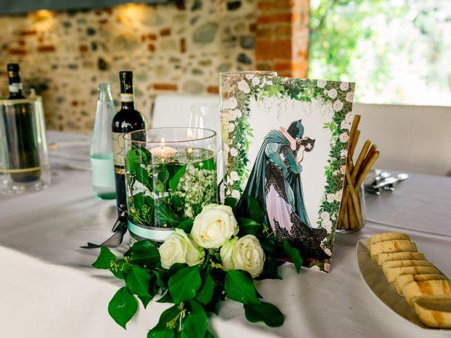 Il matrimonio di Simone e Elisa a Buriasco, Torino 77