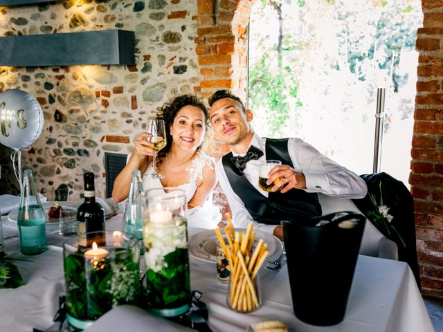 Il matrimonio di Simone e Elisa a Buriasco, Torino 79