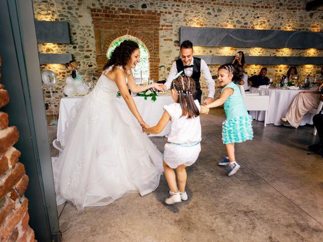 Il matrimonio di Simone e Elisa a Buriasco, Torino 87