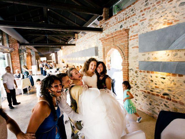 Il matrimonio di Simone e Elisa a Buriasco, Torino 89
