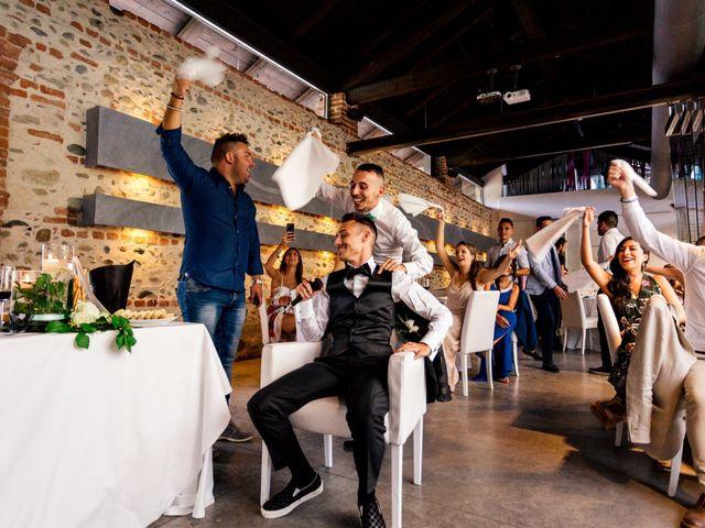Il matrimonio di Simone e Elisa a Buriasco, Torino 90