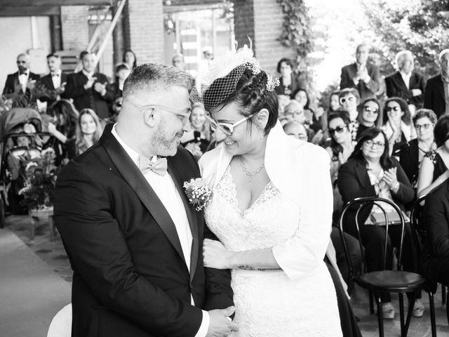 Le nozze di Carmen e Cristian