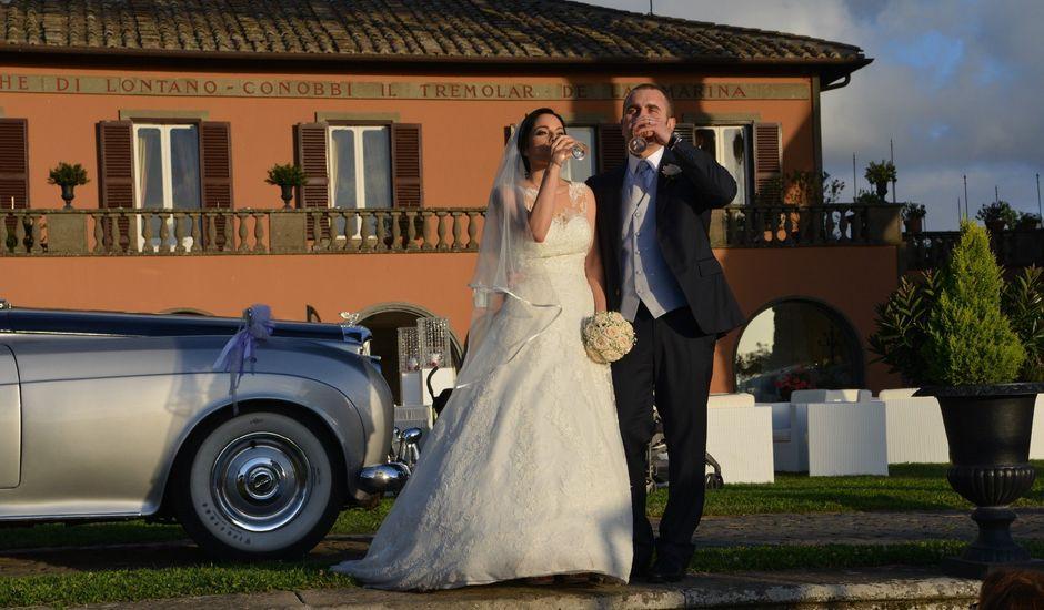 Il matrimonio di Viviana e Roberto a Marino, Roma