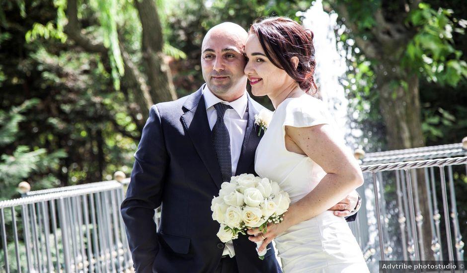 Il matrimonio di Nicola e Kateryna a Lesmo, Monza e Brianza
