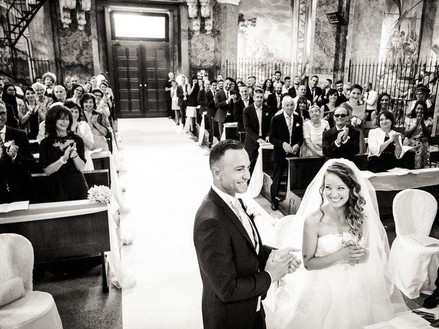 Il matrimonio di Matteo e Greta a Gallarate, Varese 15