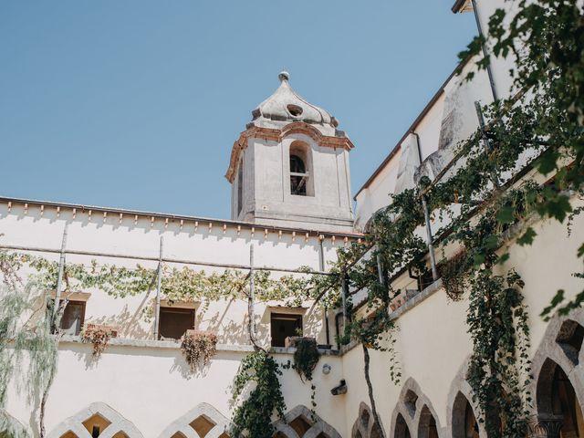 Il matrimonio di Antoine e Rosa a Sorrento, Napoli 1