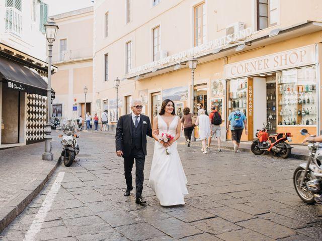 Il matrimonio di Antoine e Rosa a Sorrento, Napoli 13