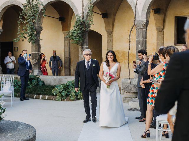 Il matrimonio di Antoine e Rosa a Sorrento, Napoli 15