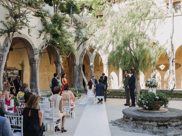 Il matrimonio di Antoine e Rosa a Sorrento, Napoli 18