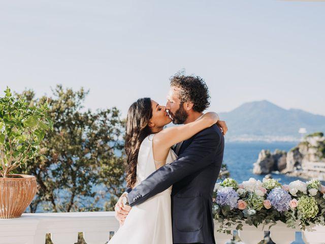 Il matrimonio di Antoine e Rosa a Sorrento, Napoli 21