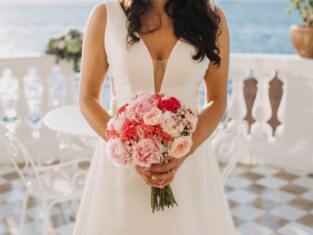 Il matrimonio di Antoine e Rosa a Sorrento, Napoli 22