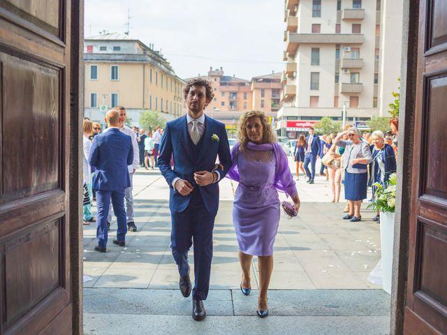 Il matrimonio di Andrea e Chiara a San Giuliano Milanese, Milano 34