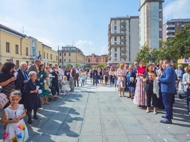 Il matrimonio di Andrea e Chiara a San Giuliano Milanese, Milano 57
