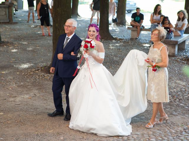 Il matrimonio di Diana e Massimo a Gaggiano, Milano 29